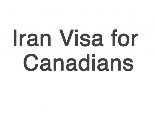 Iran Visa for Canadian Citizens